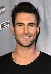 Adam Levine. Love, love, love that smile.