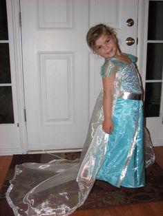 Frozen Queen Elsa Dress /Queen Elsa Costume by BeanBagsGalore, $65.00