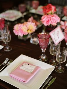 Pink and Brown Vineyard Wedding by Bliss Event Productions