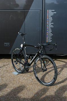 Team Sky Pinarello Dogma ridden by Bradley Wiggins (Tour of Britain 2012)