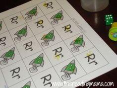 Reading the Alphabet- Letter R {Lesson 10}