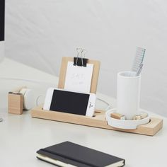 pen, trays, product design, wood, desktops, offic, minimal design, workspac, mugs