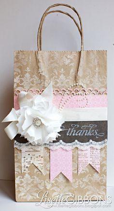 cute gift bag idea