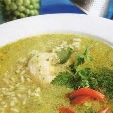 Cilantro chicken soup:) YUM
