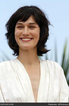 Clotilde Hesme Short hair