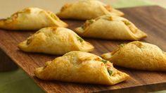 wontons, crabfil crescent, crescent rolls, crescent roll recipes, crescents, crescent wonton, crabs, green onions, wonton recipes