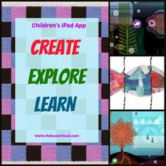 Review: Children's iPad App, Create Explore Learn at the Royal Children's Hospital (free, iPad and Android)