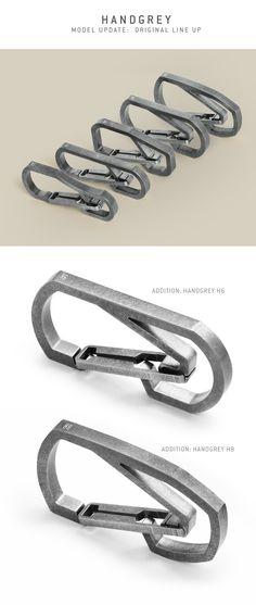 HANDGREY™ : Quick Release Titanium Keychain Carabiner by THANASIT (SUNNY) INKAVESVAANIT » Updates — Kickstarter