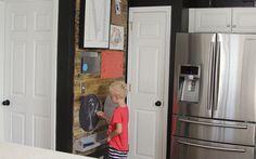 famili busi, command center, family calendar, busi wall, laundry rooms