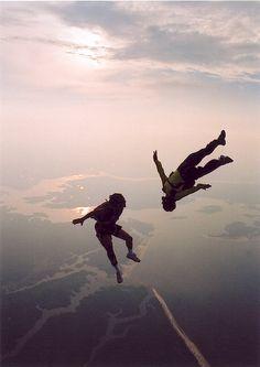 Skydiving?