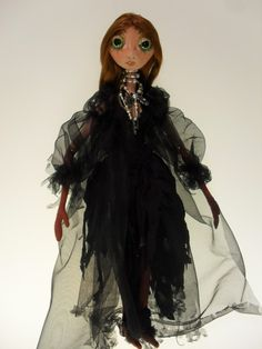 WITCH SISTER soft ball jointed doll by Kaeriefaerie52 on Etsy, $55.00