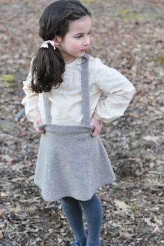 suspender skirt!
