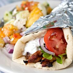 Chicken Gyros — our