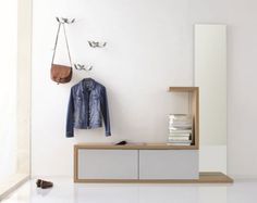 contemporary foyer storage images - Google Search