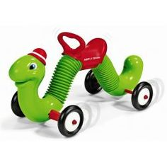 Remember this guy?! Radio Flyer Inchworm Ride-on