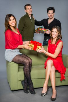 "Its a Wonderful Movie: Hallmark Channel Christmas Movie ""Finding Christmas"""