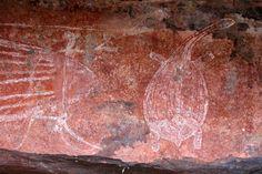 Australia's Top End: Aboriginal rock art in Kakadu