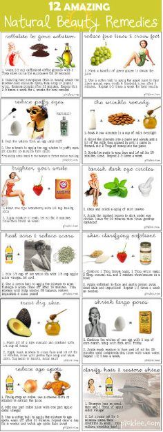 12 amazing natural food beauty remedies