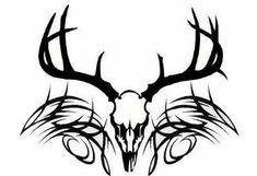 deer+skull+tattoo+pics | Tribal Style Japanese Tattoo Dragon Idea Getting A