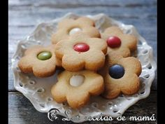 ▶ Receta de galletas de mantequilla - YouTube