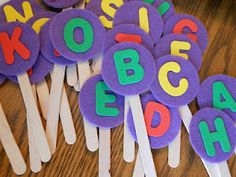 Letter Pops