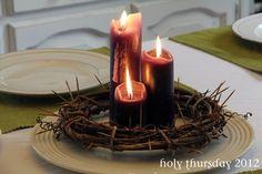 Lent Wreath/Centerpiece