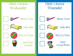 toddler chore chart, toddler chores, toddlers chore chart, babi, chore charts