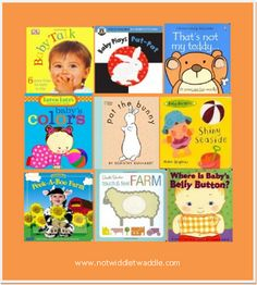 Interactive books that babies will enjoy playing with via No Twiddle Twaddle