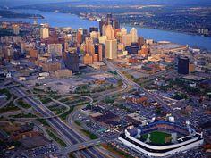 detroit landmark | Detroit - Cityscapes Buildings And Landmarks wallpaper image