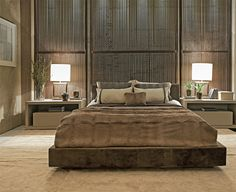 Glamourganic Master bedroom