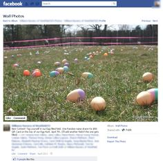 Awesome example of local retailer using Photo Tagging on Facebook in a marketing campaign.