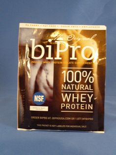 Free Sample of biPro Whey Protein
