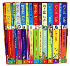 I love Roald Dahl books