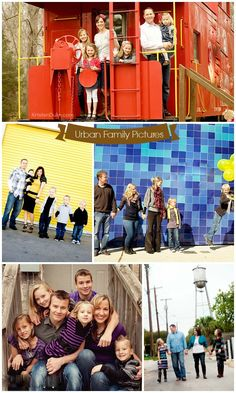 The Best Backdrops and settings for family pictures