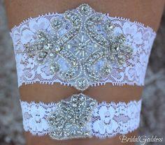 Bridal Garter Set  Toss Garter  Bridal Garter by BridalGoddess, $24.00 garter set, wedding garters, garter bridal, futur, dream, dress, brides, bridal garters, toss garter