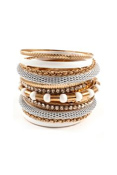 Adette Stackables in Snow