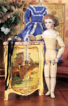 "View Catalog Item - Theriault's Antique Doll Auctions 14"" bru"