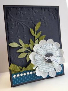 Gorgeous flower card - Stampin' Up!