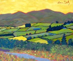 paint irish, irish landscap