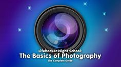 I have a lot to re-learn.  Basics of Photography: The Complete Guide