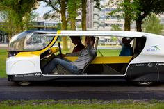 world's first electricity producing solar powered family car