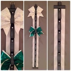 Hey, I found this really awesome Etsy listing at http://www.etsy.com/listing/173686468/cheer-bow-holder