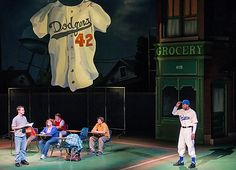 Young St. Louis students learn about Jackie Robinson, the first African-American to play in the major leagues in 'Jackie and Me,'the fourth collaboration between the Edison Ovations Series, Washington University's professional performing arts showcase, and Metro Theater Company.