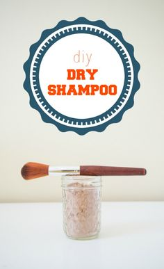 Super cheap homemade dry shampoo. Recipe for both blond & brunette. Uses arrowroot powder and oat flour instead of baking soda and cornstarch - more ph sensitive. :)