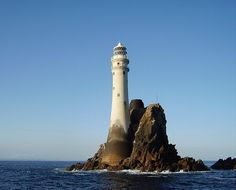 Fastnet Rock or simply Fastnet is a small islet in the Atlantic Ocean and the most southerly point of Ireland.