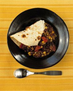 Black-Bean-and-Corn Stew Recipe