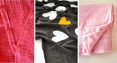 Double Gauze swaddling blankets! cute & easy project