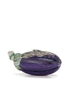 Eggplant Minaudiere by Judith Leiber