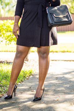DVF Little Wrap Dress