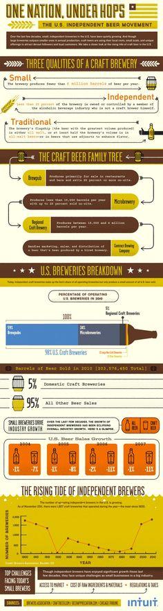 Beer Beer Beer One Nation Under Hops [infographic]       Posted April 24, 2012